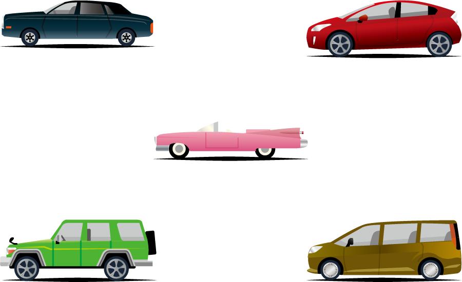 車 5種類